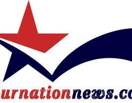 #79 untuk Design a Logo for yournationnews.com oleh kmsinfotech