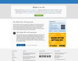 nº 1 pour Need nice web templates designed ONLY with Google Fonts or HTML complaint fonts par Pavithranmm