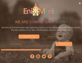 "#16 untuk Build a ""Coming Soon Website"" for my Baby Producct Brand oleh nirajmandaliya"