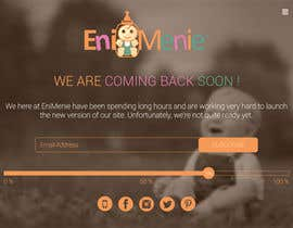 "#22 untuk Build a ""Coming Soon Website"" for my Baby Producct Brand oleh nirajmandaliya"