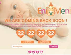 "alvinmasalembo tarafından Build a ""Coming Soon Website"" for my Baby Producct Brand için no 29"
