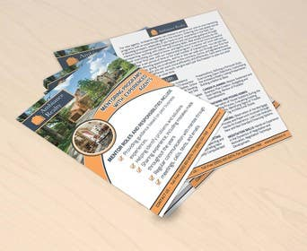 #35 for Design a Double-Sided Flyer for a Real Estate Company af gmorya