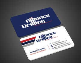 #142 for Design some Business Cards for Drilling Riggs oil & gas by imtiazmahmud80