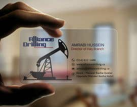 #116 for Design some Business Cards for Drilling Riggs oil & gas af anikush