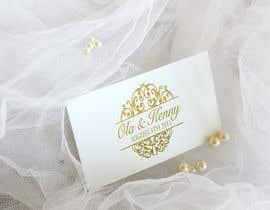 Nro 30 kilpailuun Design a Logo for wedding souvenir käyttäjältä anatomicana