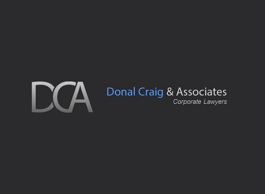 Penyertaan Peraduan #5 untuk Design a Logo for Donal Craig and Associates