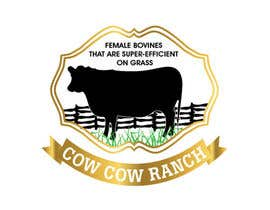 #49 untuk Design a Logo for Cow Cow Ranch oleh zeddcomputers