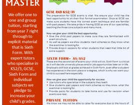#6 for Design a Brochure for Tuition Centre & Private Tuition af nerielm25