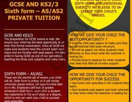 #9 for Design a Brochure for Tuition Centre & Private Tuition af meenuchan93