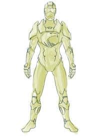#9 untuk Need a character in robot style oleh akazuk