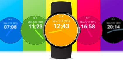 #1 untuk Change colours on a watch face oleh grapple2013