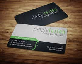 #27 for Simplefusion Business Cards by anikush