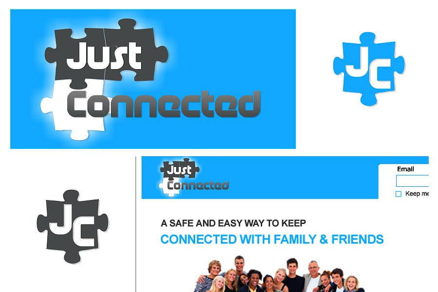 #83 for Graphic Design for JustConnected.com by Anastasiy