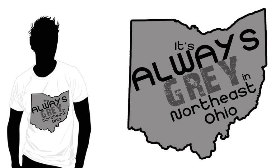 Bài tham dự cuộc thi #                                        16                                      cho                                         Design a T-Shirt for Northeast Ohio