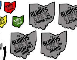 #18 para Design a T-Shirt for Northeast Ohio por alidicera