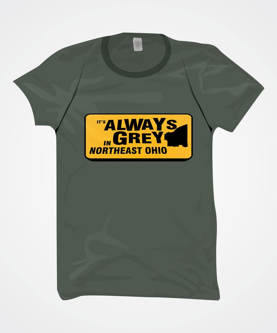 Bài tham dự cuộc thi #                                        1                                      cho                                         Design a T-Shirt for Northeast Ohio