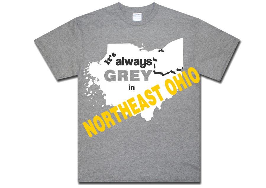 Bài tham dự cuộc thi #                                        6                                      cho                                         Design a T-Shirt for Northeast Ohio