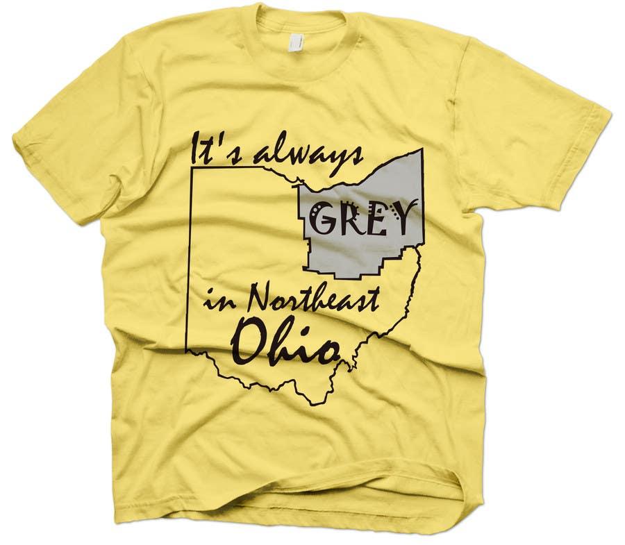 Bài tham dự cuộc thi #                                        9                                      cho                                         Design a T-Shirt for Northeast Ohio