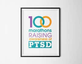 #43 untuk Design a Logo for 100 Marathons for Post Traumatic Stress Disorder oleh cuongprochelsea
