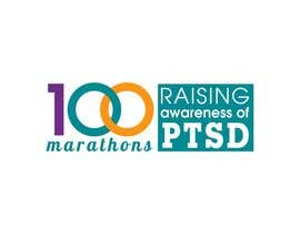 #70 untuk Design a Logo for 100 Marathons for Post Traumatic Stress Disorder oleh cuongprochelsea