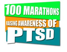 #14 untuk Design a Logo for 100 Marathons for Post Traumatic Stress Disorder oleh ovaisaslam89