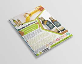 nº 6 pour Design a sell sheet - organic food product par rekatmedia