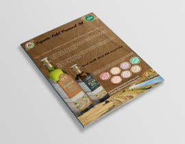 nº 15 pour Design a sell sheet - organic food product par rekatmedia