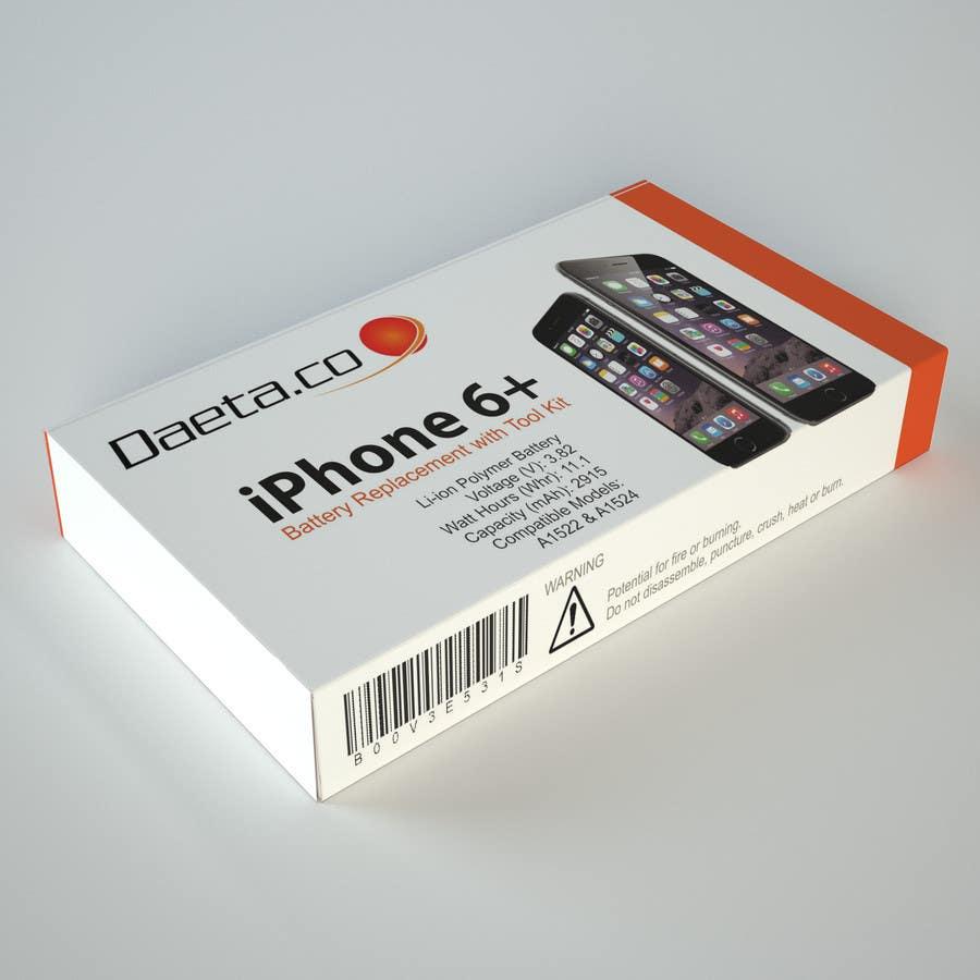Bài tham dự cuộc thi #30 cho 3D render my a product box into a stock photo for Amazon