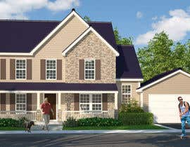 #8 for Home Floorplan Front Elevation af Maxvisualization