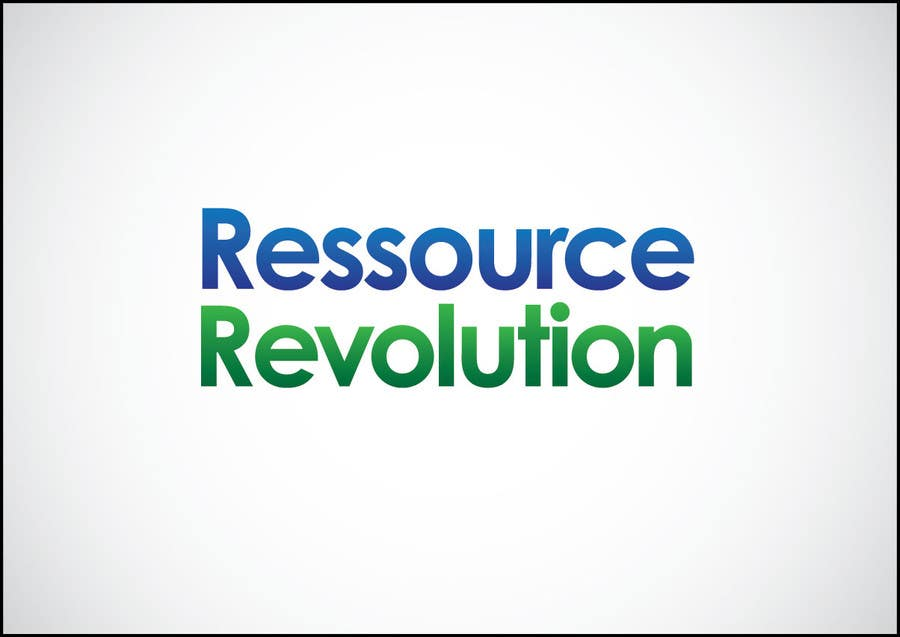 Proposition n°17 du concours Design a Logo for RessourceRevolution