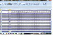 #15 for Do some Excel Work for Workers Schedule af kinany2010