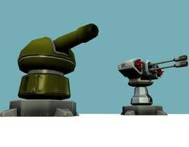 #29 cho Concept - 3D Modelling for Game Turrets (Low Poly) bởi haroldwithers