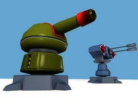 #31 cho Concept - 3D Modelling for Game Turrets (Low Poly) bởi haroldwithers