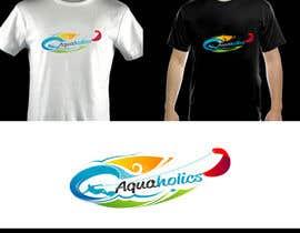 Nro 89 kilpailuun Logo for Aquaholics Kitesurfing käyttäjältä atikur2011