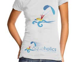 #52 cho Logo for Aquaholics Kitesurfing bởi the0d0ra