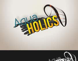 #49 for Logo for Aquaholics Kitesurfing by rownike