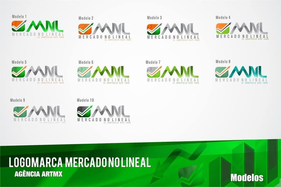 Penyertaan Peraduan #38 untuk Diseñar un logotipo mercadonolineal.com