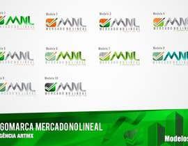 #38 para Diseñar un logotipo mercadonolineal.com por artmx