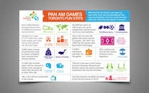 Graphic Design Contest Entry #1 for Design a Pan Am Games Infographic