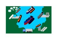 Graphic Design Entri Peraduan #10 for Illustrate Something for maritime logistics for LNG