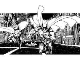 Nro 9 kilpailuun 1960,s style Batman and Robin cartoon käyttäjältä Roystenmania