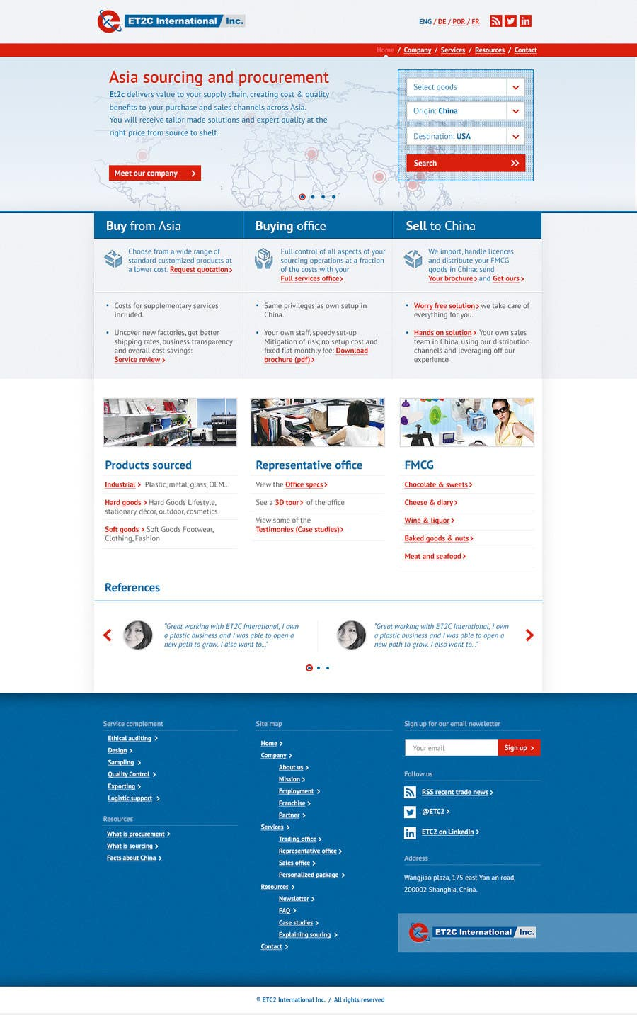 #197 for Single Homepage needs redesign by aleca99