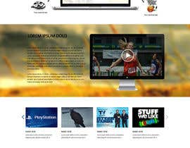 nº 15 pour Design a Website Mockup for GoDiGiTV par SadunKodagoda
