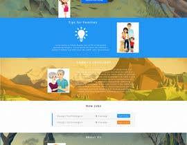 #16 untuk Design a Website Mockup ( 2-4 Pages) oleh alssiha