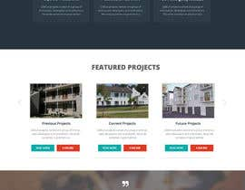 #15 untuk Design a Website Mockup for a construction company oleh webmastersud