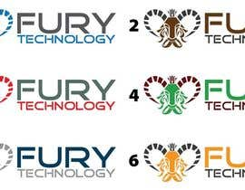 #104 for Design a Logo for Fury Technology by eddesignswork