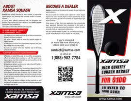 #14 untuk Xamsa Squash Brochure Design oleh ssergioacl