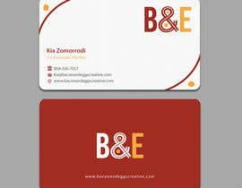#99 untuk Design the back of a business card oleh einsanimation