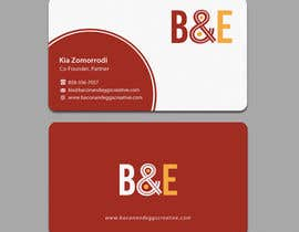 einsanimation tarafından Design the back of a business card için no 100