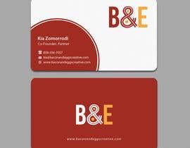 #100 for Design the back of a business card af einsanimation
